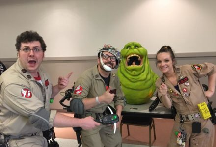 The Ghostbusters!