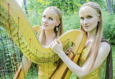 The Harp Twins!